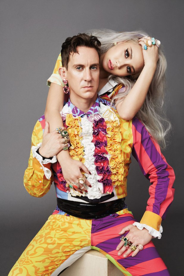 Jeremy Scott & CL - 1
