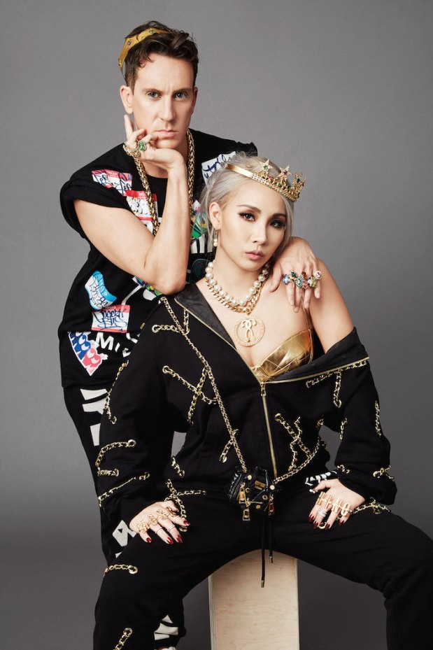 Jeremy Scott & CL - 2